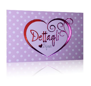 Embossed Fuchsia Cards